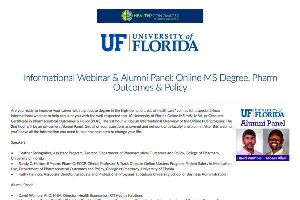 Spring 2020 Webinar on demand registration