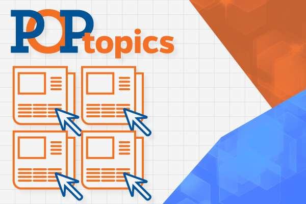 POP topics Banner